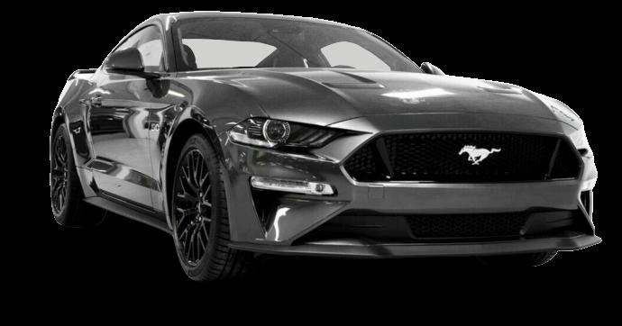 Mustang som skole vogn